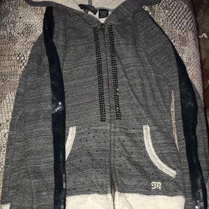 Miss Me Zip-up hoodie